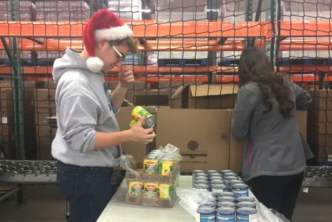 WRHS groups give back during the holidays