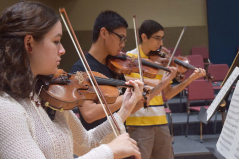Students selected to All-State music groups