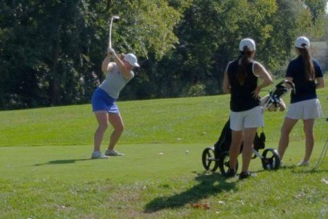 Girls golf takes individual, team titles at League