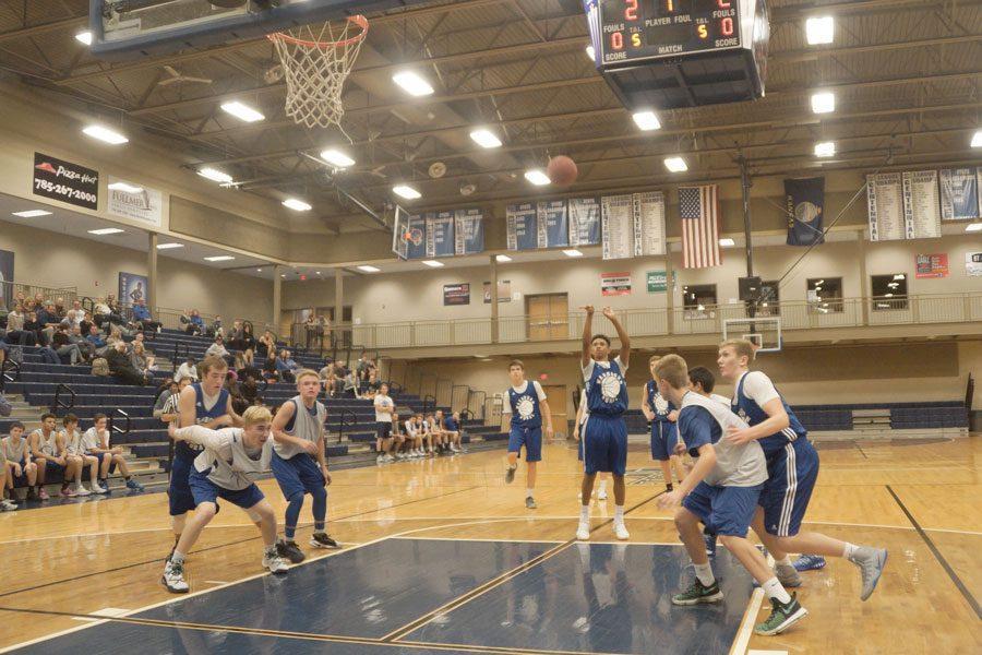 Photo Gallery: Boys basketball scrimmage on Nov. 28