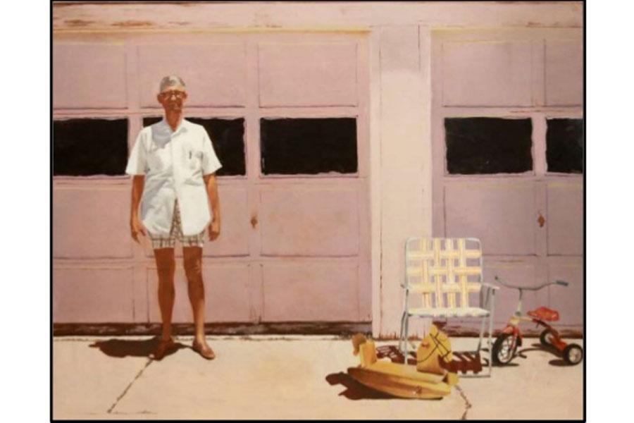 Senior Clare Fallon's piece titled