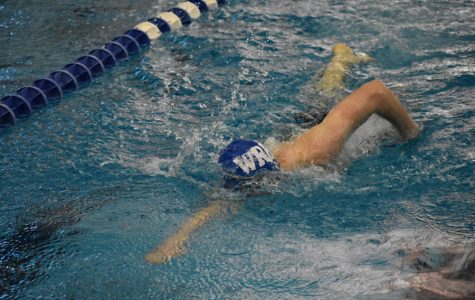 Boys swim/dive team finish second at Lawrence Free State