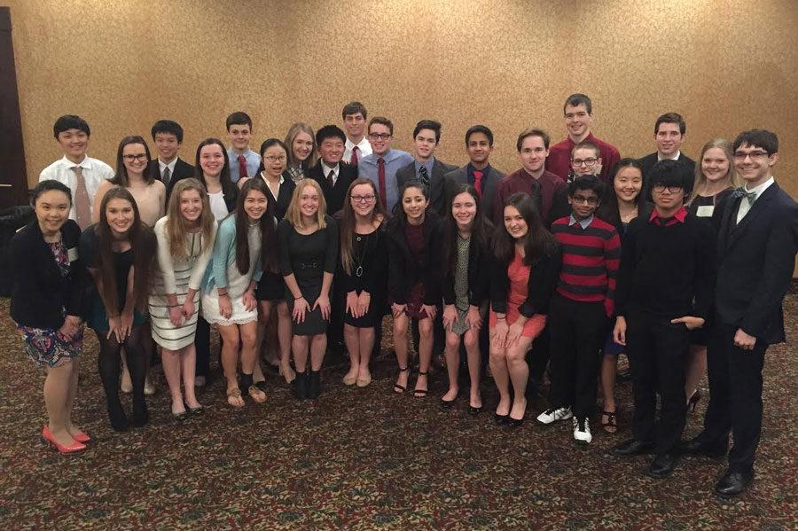 33 students participated in Model UN on Feb. 27-28 at the Topeka Ramada Hotel and Convention Center.