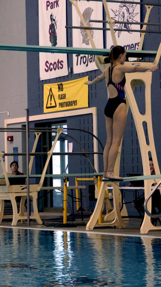 Swim team ends on a high note
