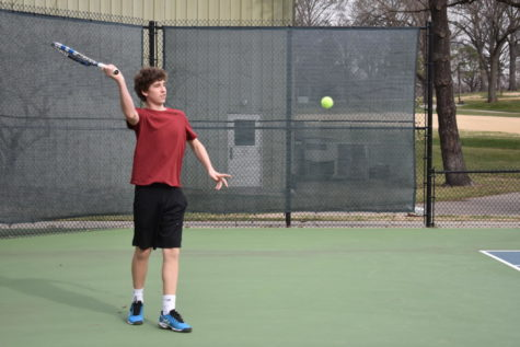 Tennis team brings home two titles this season