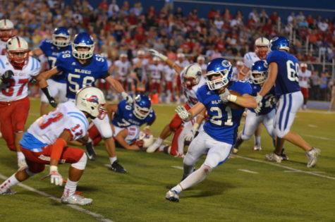 Photo Gallery: Varsity Football vs Highland Park on Sep 8