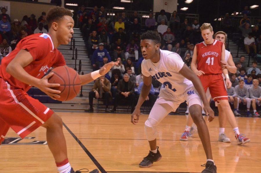 Photo Gallery: Boys Basketball vs Shawnee Heights Jan 12