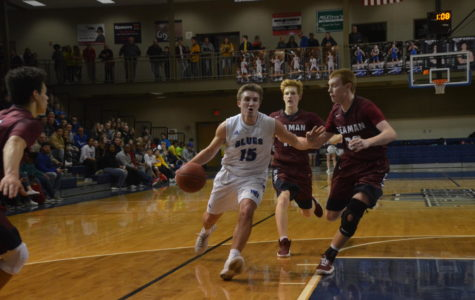 Photo Gallery: Boys Basketball vs Seaman Feb 2