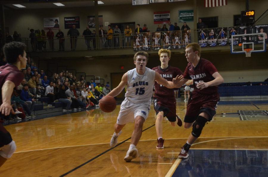 Photo Gallery: Boys Basketball vs Seaman Feb 2