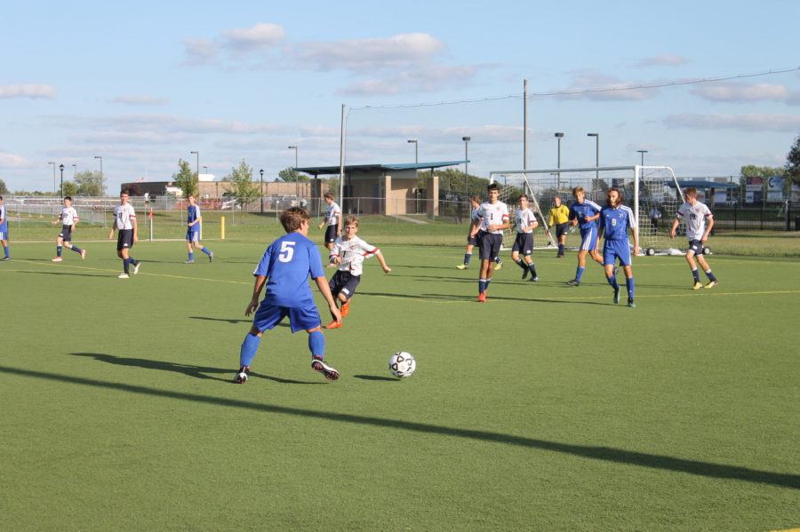 Photo Gallery: JV Boys Soccer vs Cair-Paravel Sept 10