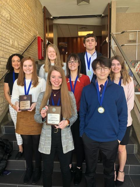 WRHS+DECA+Competes+in+State+Competition