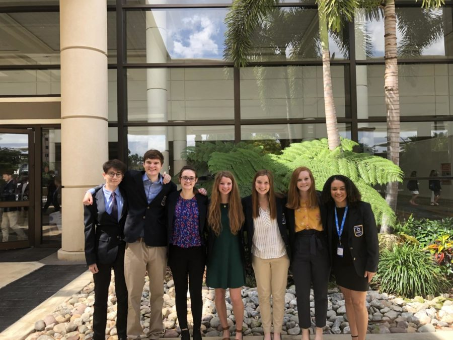 WRHS DECA Competes at Nationals