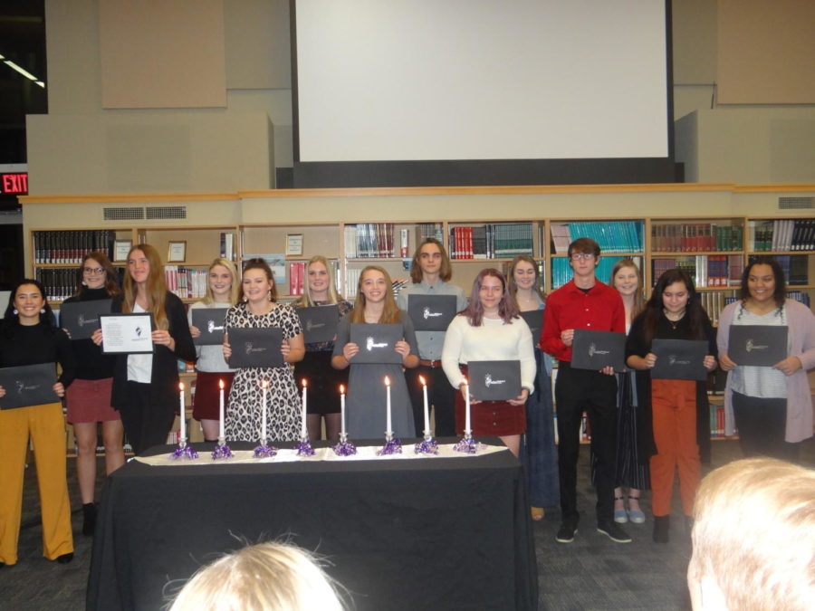 National Technical Honor Society Induction