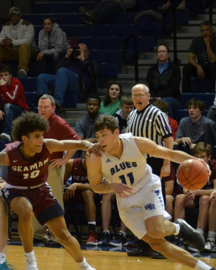 Photo Gallery: Boys Basketball vs Seaman 2/4